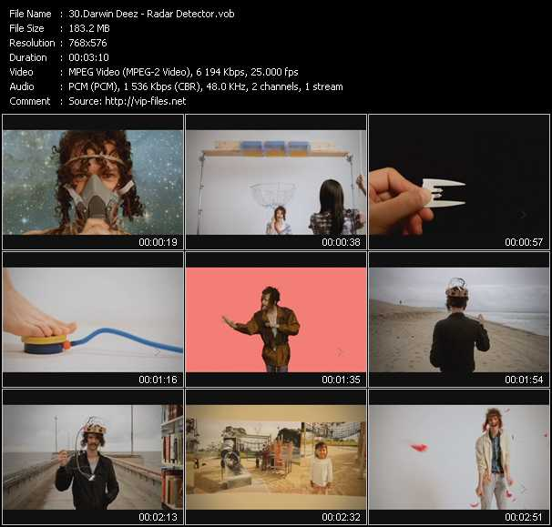 Darwin Deez video screenshot