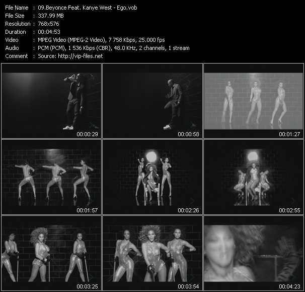 Beyonce Feat. Kanye West video screenshot