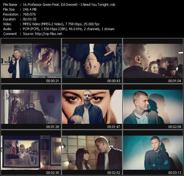 Professor Green Feat. Ed Drewett video screenshot
