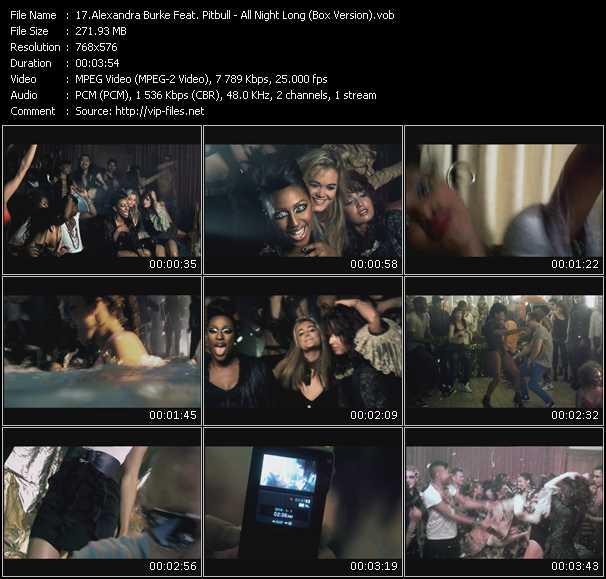 video All Night Long (Box Version) screen