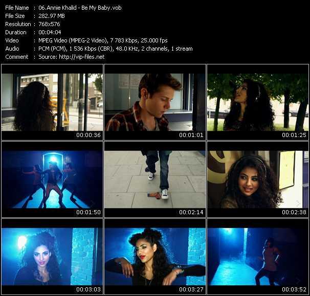 Annie Khalid video screenshot