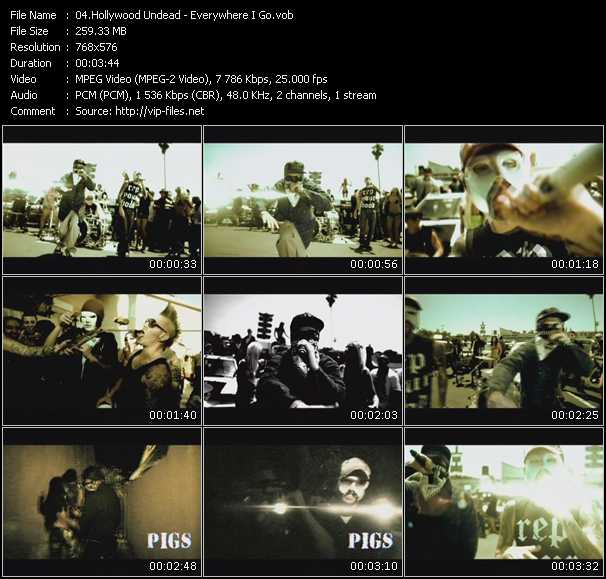 Hollywood Undead video screenshot