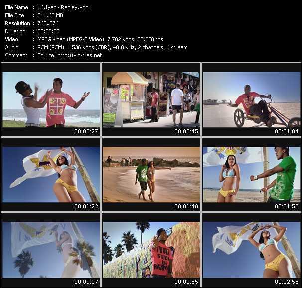Iyaz video screenshot