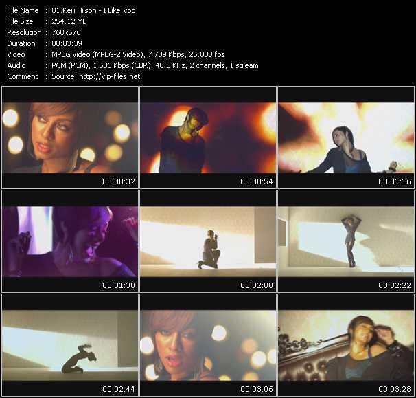 video I Like screen