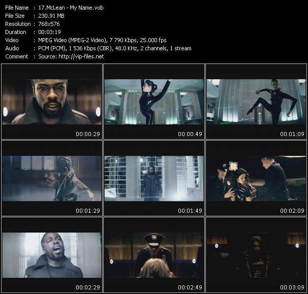 McLean video screenshot