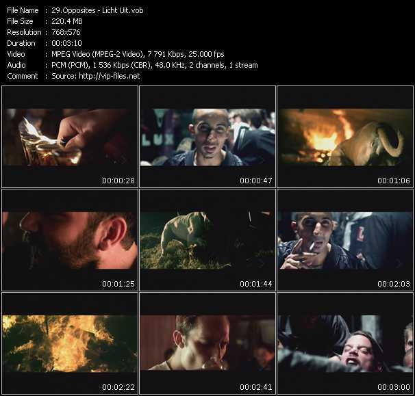 Opposites video screenshot
