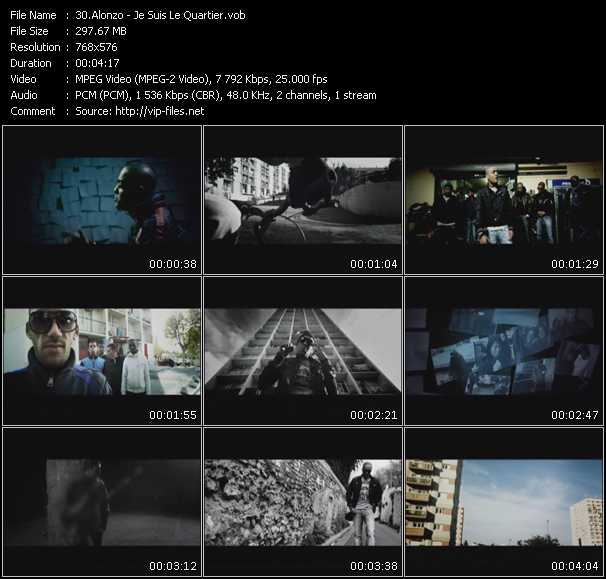 Alonzo video screenshot