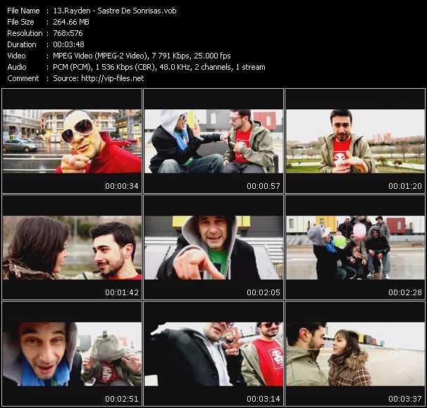 Rayden video screenshot