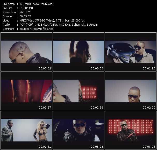 Ironik video screenshot