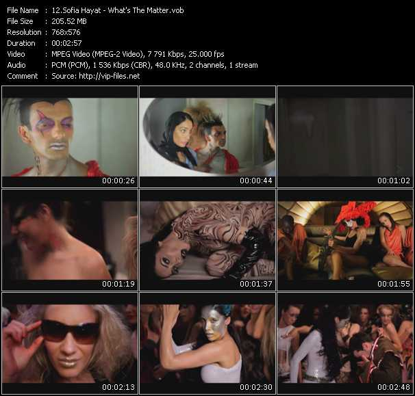 Sofia Hayat video screenshot