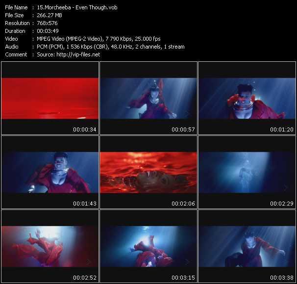 Morcheeba video screenshot