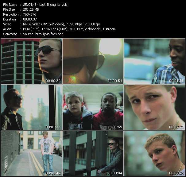 Olly B video screenshot