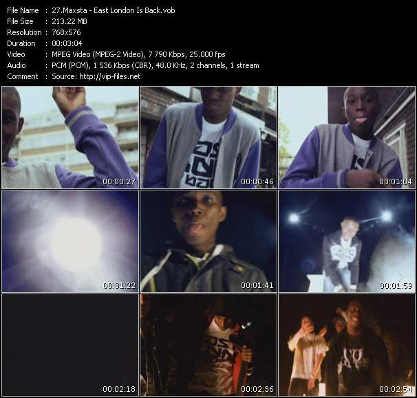 Maxsta video screenshot