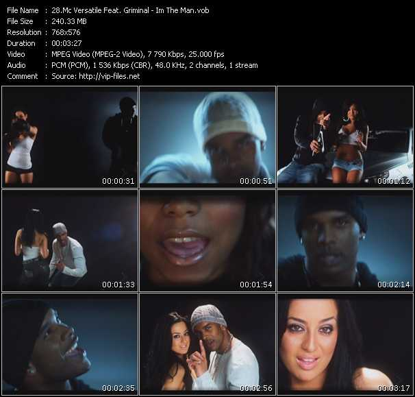 Mc Versatile Feat. Griminal video screenshot
