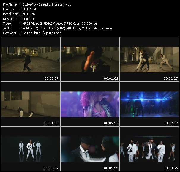 video Beautiful Monster screen