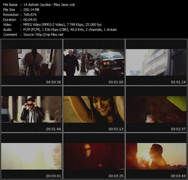 Ashwin Jaydee video screenshot