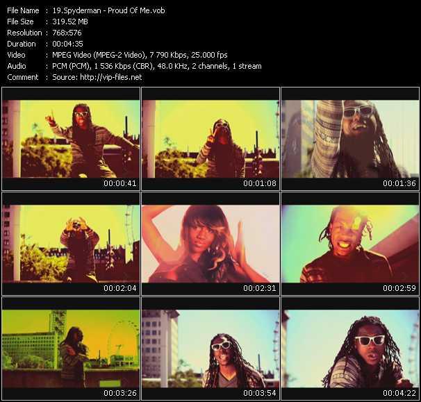 Spyderman video screenshot