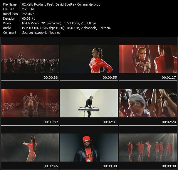 Kelly Rowland Feat. David Guetta video screenshot