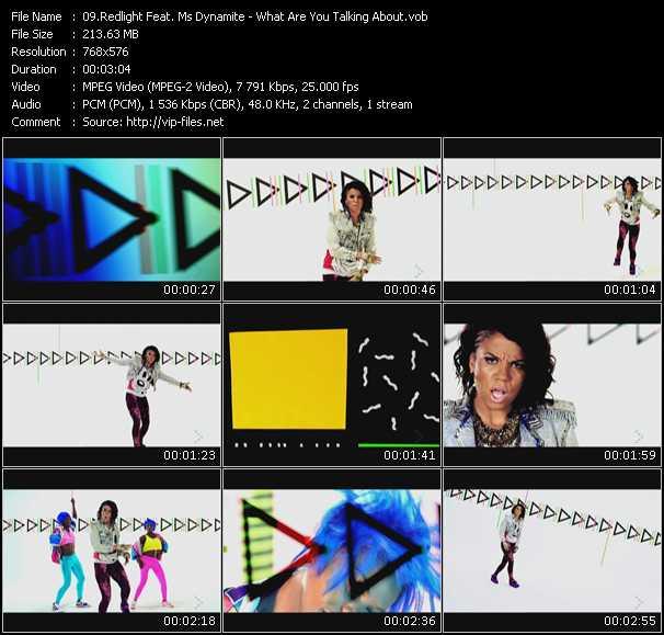 Redlight Feat. Ms. Dynamite video screenshot