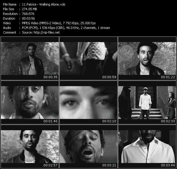 Patrice video screenshot