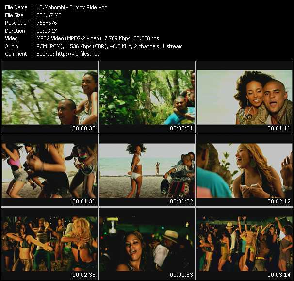 Mohombi video screenshot