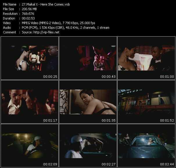 Maikal X video screenshot