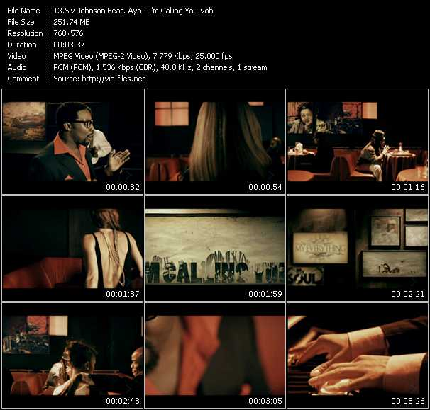 Sly Johnson Feat. Ayo video screenshot