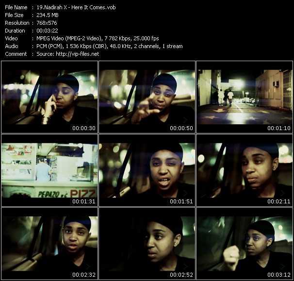 Nadirah X video screenshot