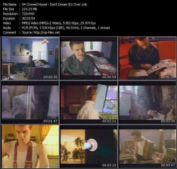 Crowed House video screenshot