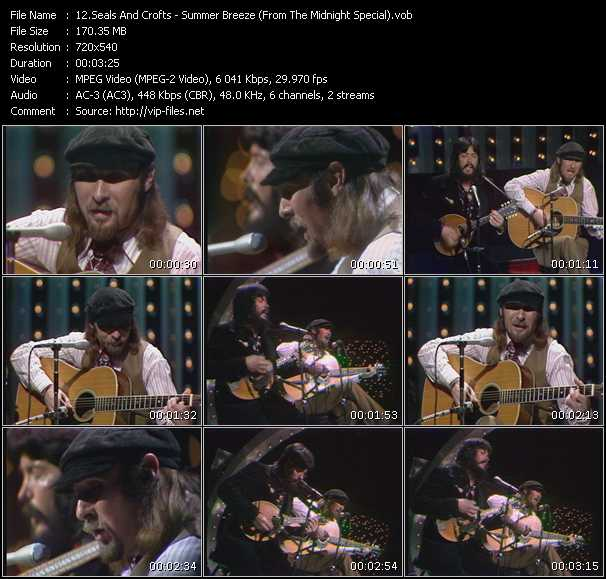 Seals And Crofts video screenshot