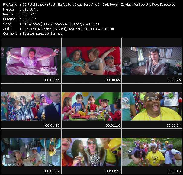 Fatal Bazooka Feat. Big Ali, Pzk, Dogg Soso And Dj Chris Prolls video screenshot