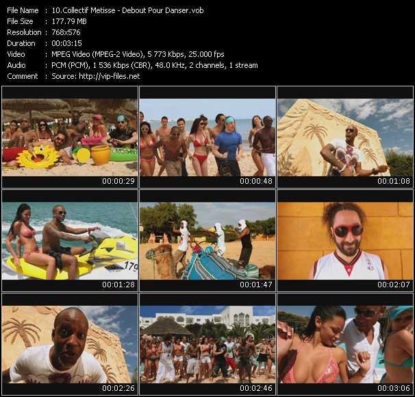 Collectif Metisse video screenshot