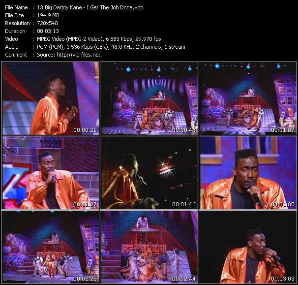 Big Daddy Kane video screenshot