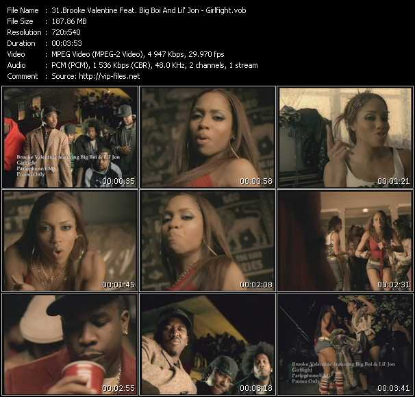 Brooke Valentine Feat. Big Boi And Lil' Jon video screenshot