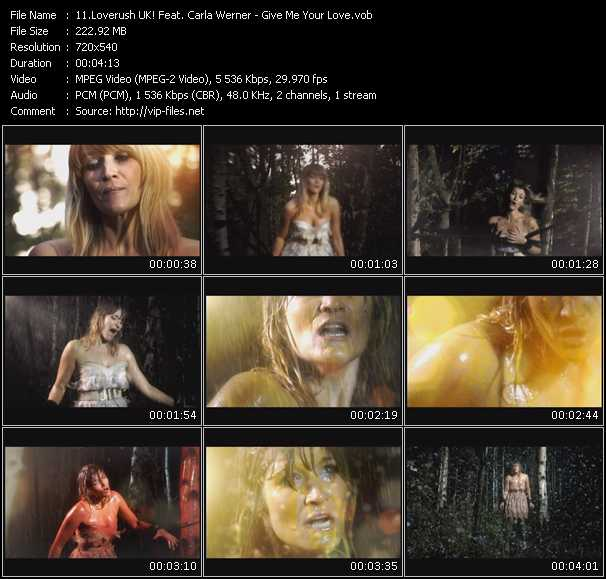 Loverush UK! Feat. Carla Werner video screenshot