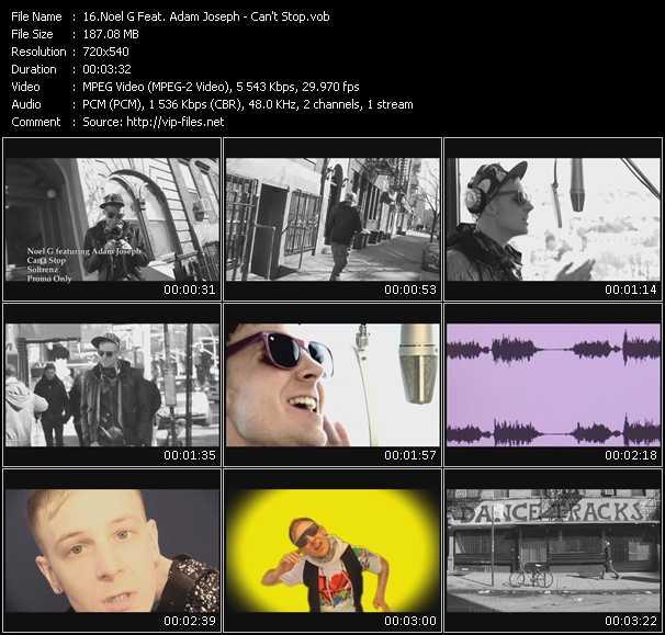 Noel G. Feat. Adam Joseph video screenshot