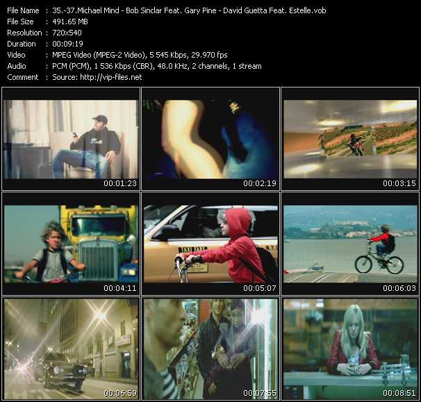 Michael Mind - Bob Sinclar Feat. Gary Pine - David Guetta Feat. Estelle video screenshot