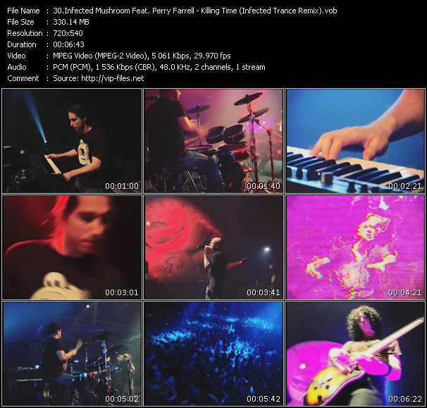 Infected Mushroom Feat. Perry Farrell video screenshot