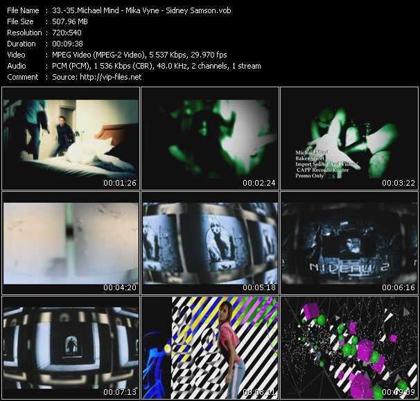 Michael Mind - Mika Vyne - Sidney Samson video screenshot