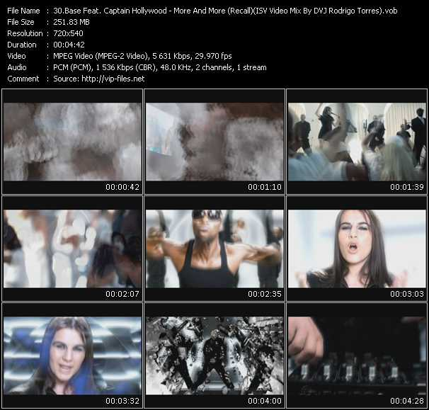 Base Feat. Captain Hollywood video screenshot