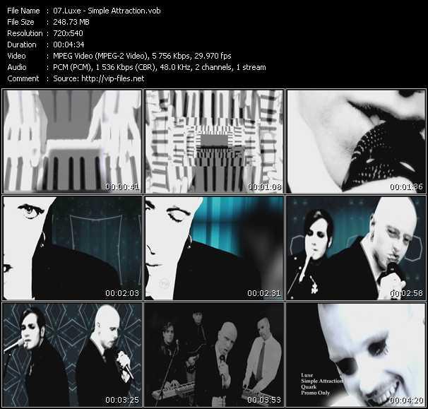Luxe video screenshot