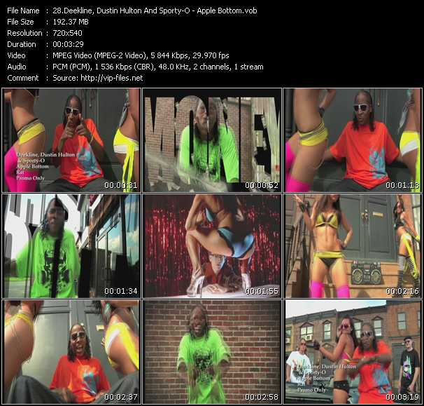Deekline, Dustin Hulton And Sporty-O video screenshot