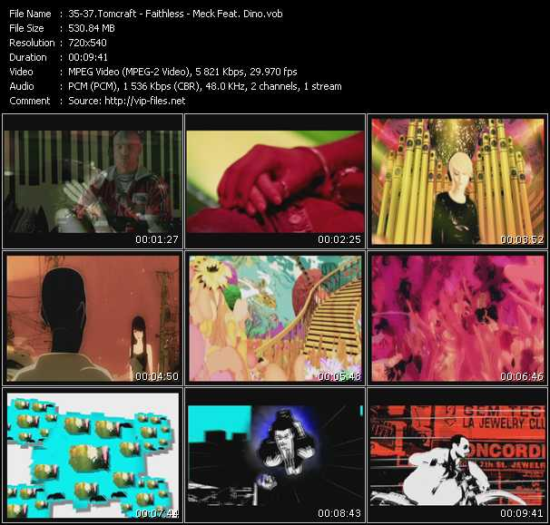 Tomcraft - Faithless - Meck Feat. Dino video screenshot