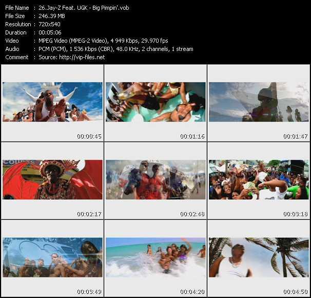 Jay-Z Feat. UGK video screenshot