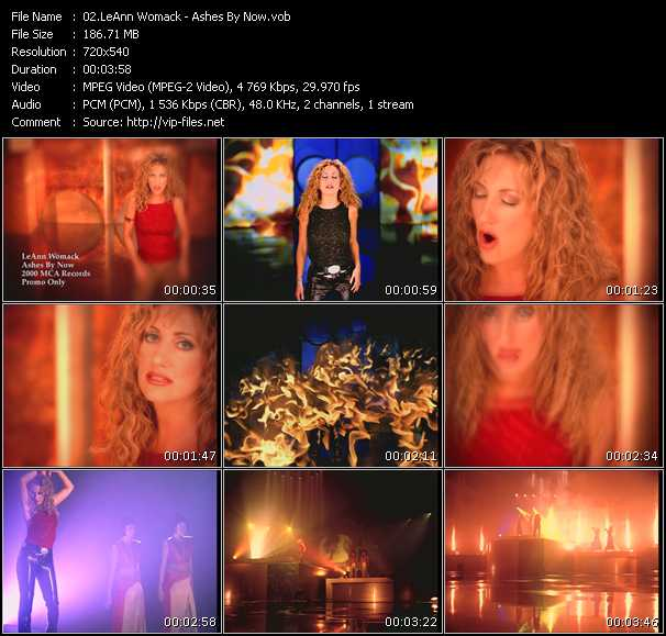 LeAnn Womack video screenshot