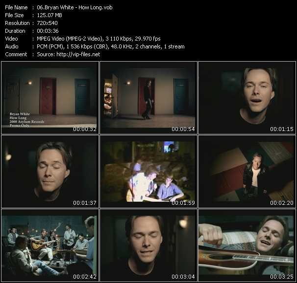 Bryan White video screenshot