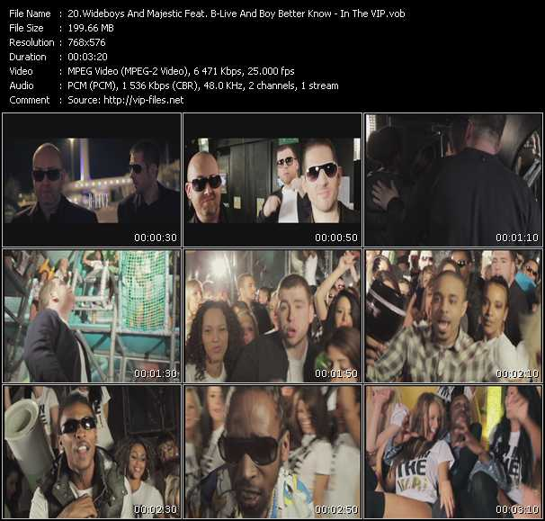Wideboys And Majestic Feat. B-Live And Boy Better Know video screenshot