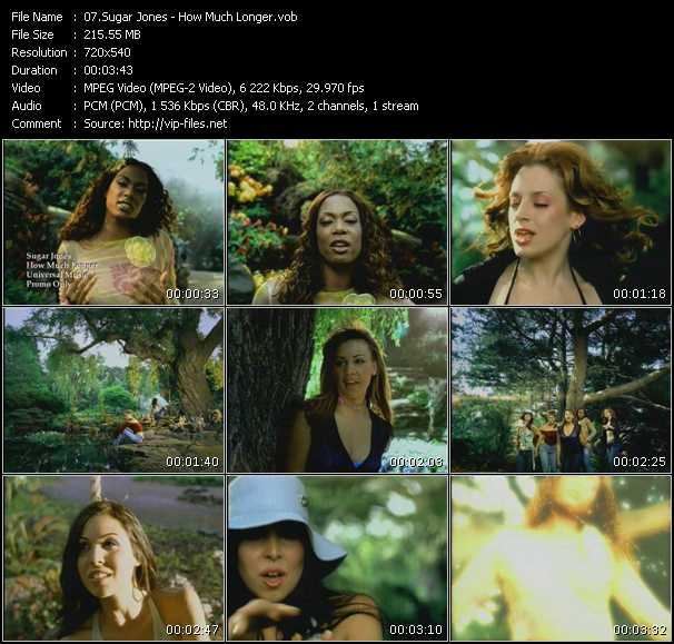 Sugar Jones video screenshot