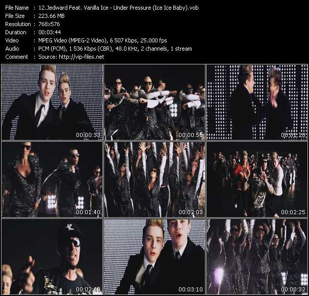Jedward Feat. Vanilla Ice video screenshot