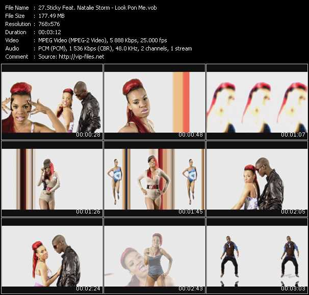 Sticky Feat. Natalie Storm video screenshot